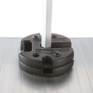 Leg Weights: 12.5kg Steel Stacking (Pair)