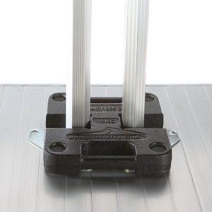 Leg Weights: 15kg H Shaped Steel