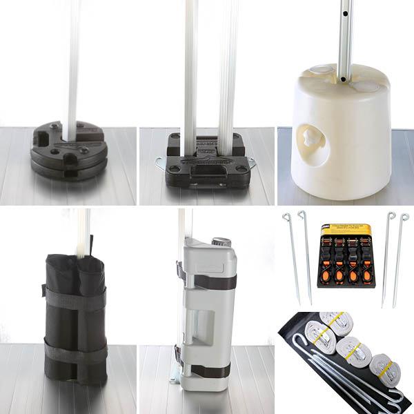 Gazebo Leg Weights & Anchor Kits