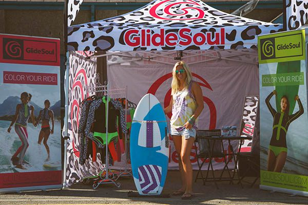 Branded Pop up Tent for GlideSoul by Gazeboshop