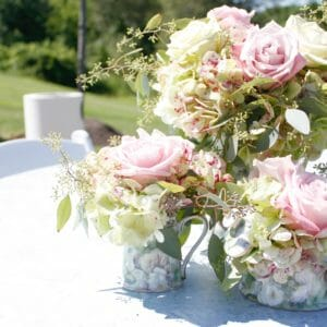 5 outdoor wedding reception ideas